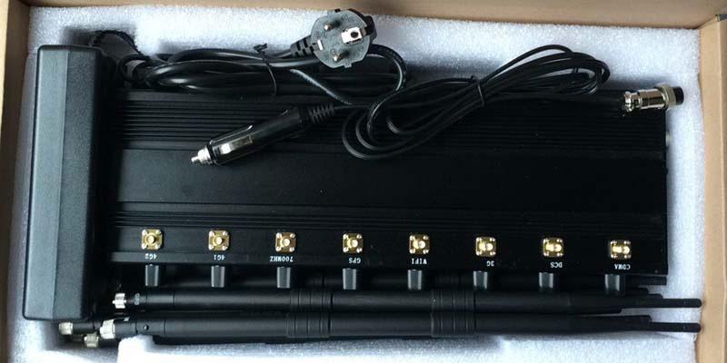 Adjustable 8 Bands High Power Jammer