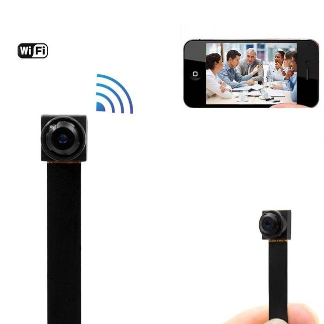 Mini Hd Wlan Ip Hidden Camera Remote Monitoring Jammer Buy
