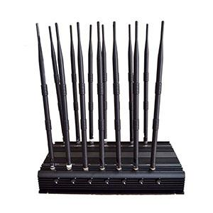 phone jammers legal group - 14 Bands Adjustable High Power Signal Jammer LoJack Blocker