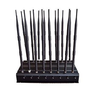 portable gps signal jammer yakima - Wide Frequency Jamming Device 3.5G Blocker 16 Antennas
