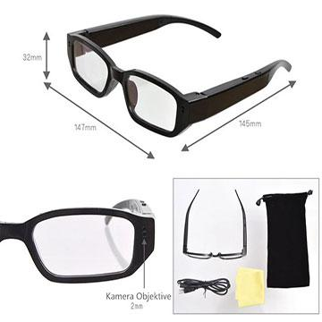 720P Clear Video Spy Camera Glasses