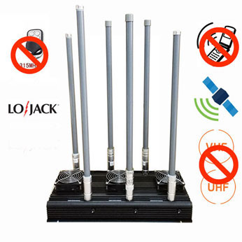 gps repeater jammer tech - Cell Phone UHF VHF 315 LoJack 6 Bands Blocker|Jammer-buy