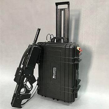 Trolley Box UAV Jammer Drone Defender with Directional Antenna