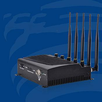 E0501 High Power Desktop Cell Phone WiFi Jammer 5 Bands