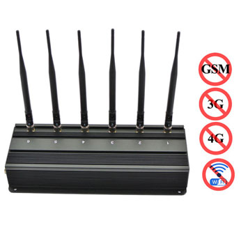 High Quality GSM 3G 4G Signal Blocker WiFi Jammer E0601
