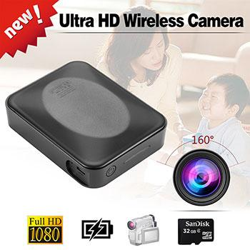 HD Water-resistant WiFI Non Aperture Power Supply Camera HTP115
