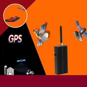 Handheld GPS Signal Jammers Jamming Vehicle Satellite Tracking