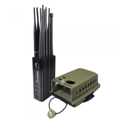 10 Antennas Plus Portable Mobile Phone Signal Jammer LOJACK GPS Wi-Fi Signal Blocker