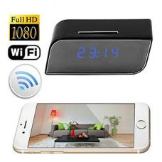 HTP11 WIFI HD Clock Surveillance Camera
