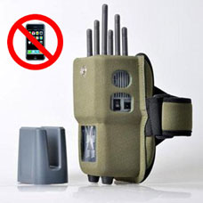 60501 Portable Whole Mobile Phone WiFi Signal Jammer