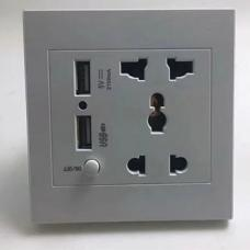 Wall Outlet Spy Camera with Dual USB Port HTP001